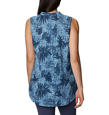 Women's Willow Bend™ Sleeveless Tunic Willow Bend™ EXS Sleeveless Tunic | 028 | L, Blue Sky, back