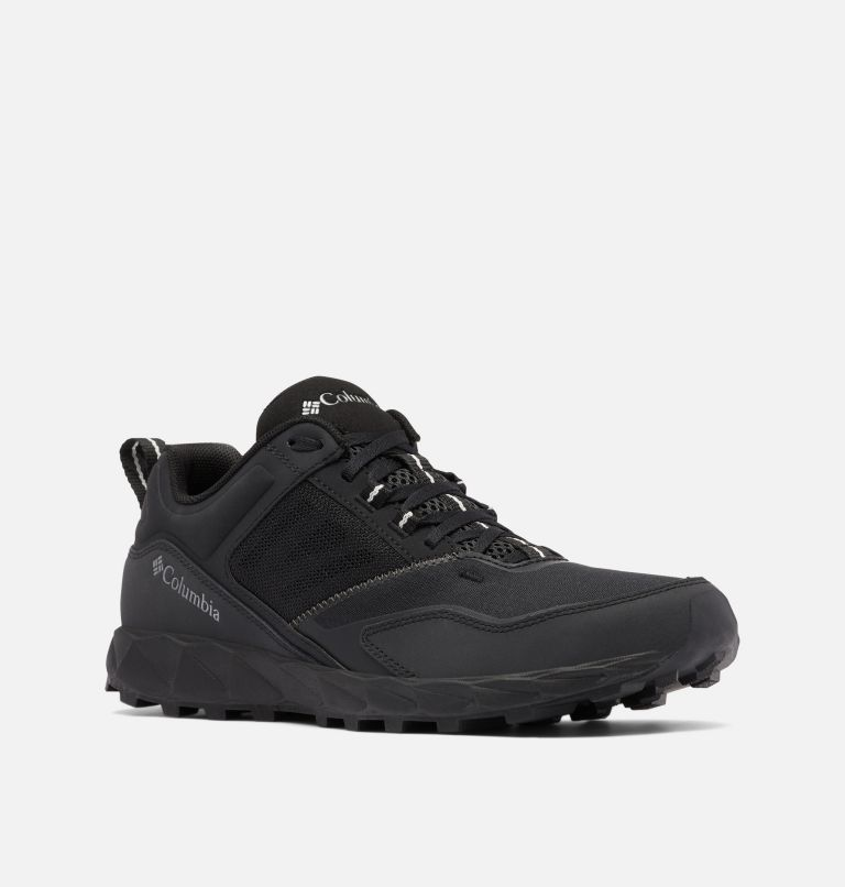 FLOW™ DISTRICT | 010 | 9 Men's Flow™ District Shoe, Black, Dark Pewter, 3/4 front