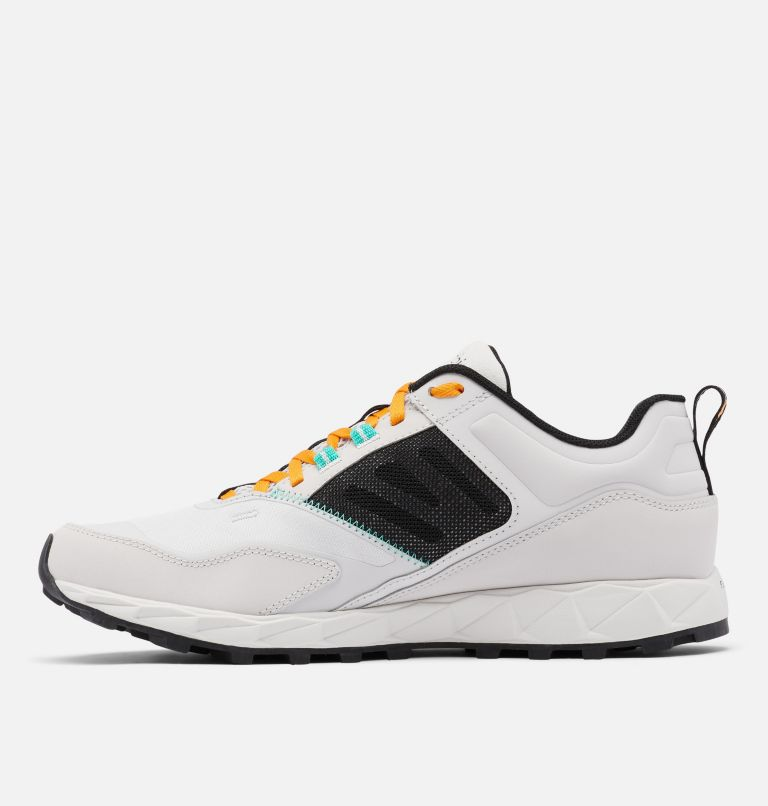 FLOW™ DISTRICT | 082 | 15 Men's Flow™ District Shoe, Silver Grey, Glaze Green, medial