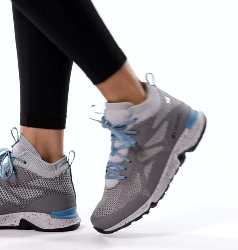 VITESSE™ MID OUTDRY™ | 033 | 7.5 Women's Vitesse™ Mid OutDry™ Shoe, TI Grey Steel, Shasta, video