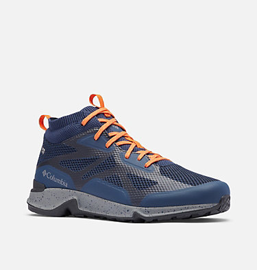 Men's Vitesse™ Mid OutDry™ Shoe VITESSE™ MID OUTDRY™ | 383 | 10, Collegiate Navy, Tangy Orange, 3/4 front