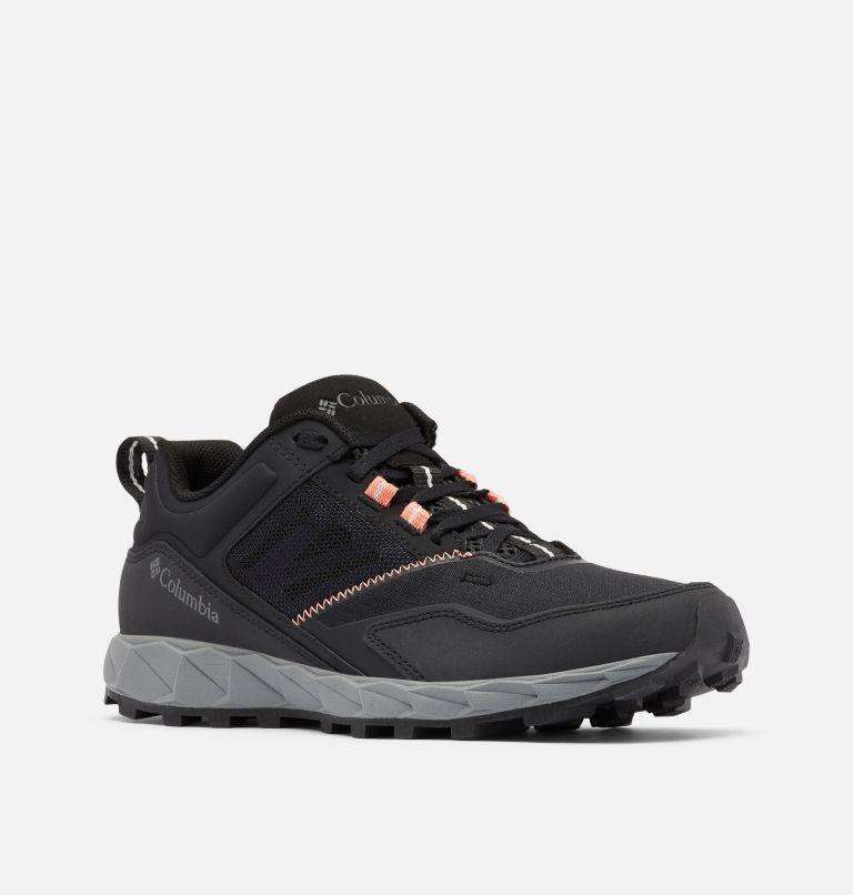 FLOW™ DISTRICT | 010 | 5.5 Women's Flow™ District Shoe, Black, Lychee, 3/4 front