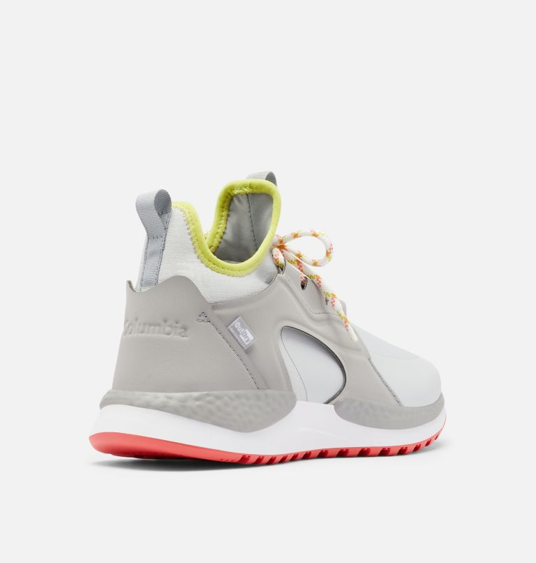 SH/FT™ AURORA OUTDRY™ | 063 | 12 Women's SH/FT™ Aurora OutDry™ Shoe, Grey Ice, Chartreuse, 3/4 back