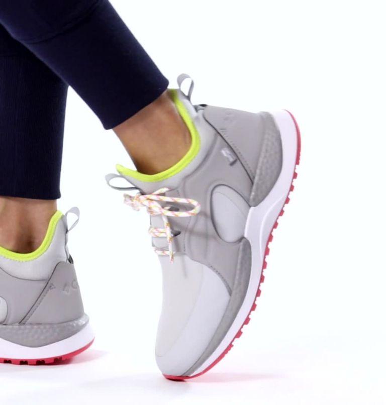 SH/FT™ AURORA OUTDRY™ | 063 | 8 Women's SH/FT™ Aurora OutDry™ Shoe, Grey Ice, Chartreuse, video