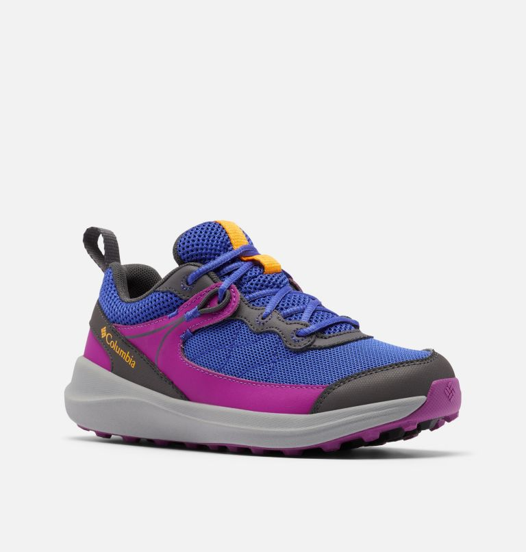 YOUTH TRAILSTORM™ | 545 | 6 Big Kids' Trailstorm™ Shoe, Light Grape, Bright Plum, 3/4 front