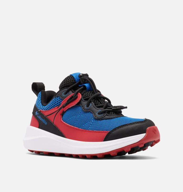 CHILDRENS TRAILSTORM™ | 010 | 13 Kids' Trailstorm™ Walking Shoe, Black, Bright Indigo, 3/4 front