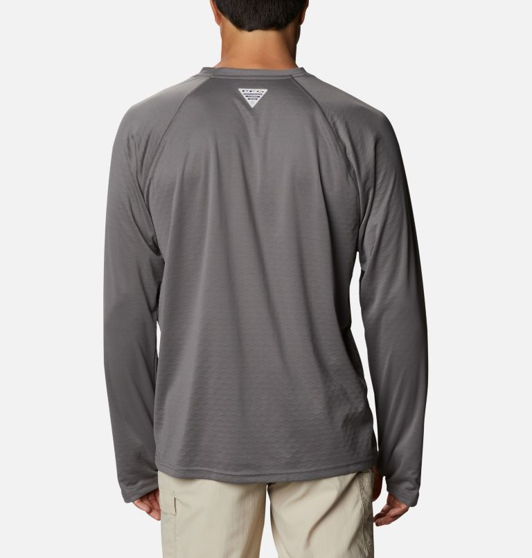 Men's PFG ZERO Rules™ Ice Long Sleeve Shirt Men's PFG ZERO Rules™ Ice Long Sleeve Shirt, back