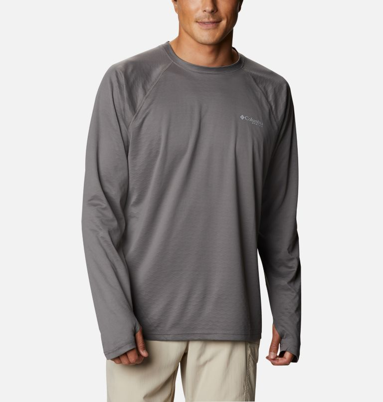 Men's PFG ZERO Rules™ Ice Long Sleeve Shirt Men's PFG ZERO Rules™ Ice Long Sleeve Shirt, front