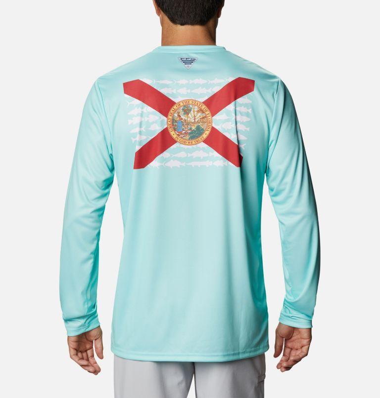 Men's PFG Terminal Tackle™ State Fish Flag Long Sleeve Shirt Men's PFG Terminal Tackle™ State Fish Flag Long Sleeve Shirt, front