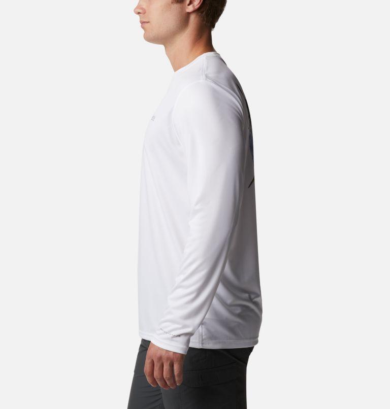 Terminal Tackle PFG™ Carey Chen LS | 100 | XL Men's PFG Terminal Tackle™ Carey Chen Long Sleeve Shirt, White, Tarpon, a1