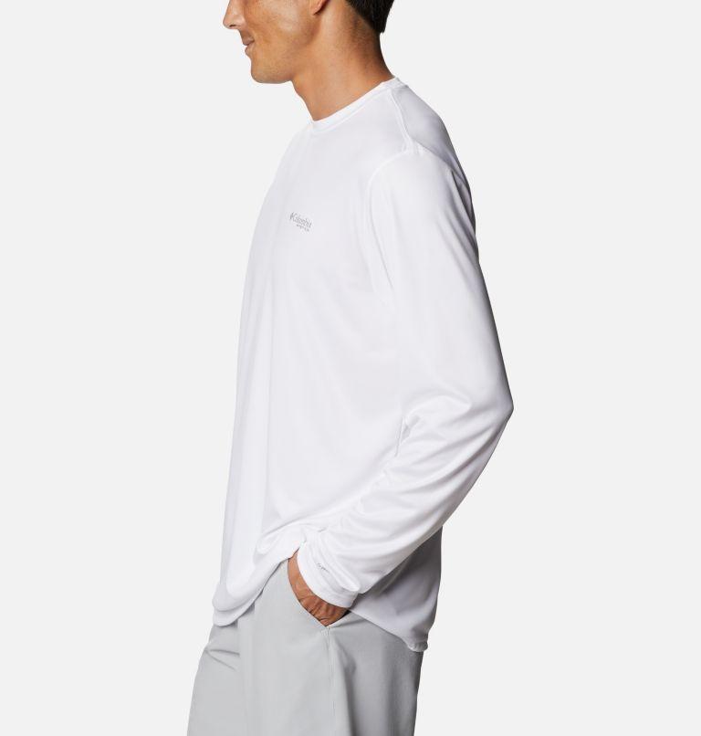 Terminal Tackle PFG™ Carey Chen LS   102   M Men's PFG Terminal Tackle™ Carey Chen Long Sleeve Shirt, White, Sailfish, a1
