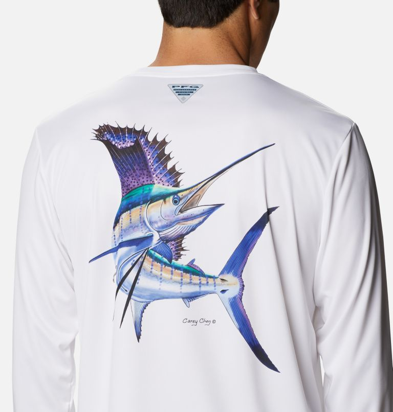 Men's PFG Terminal Tackle™ Carey Chen Long Sleeve Shirt Men's PFG Terminal Tackle™ Carey Chen Long Sleeve Shirt, a3