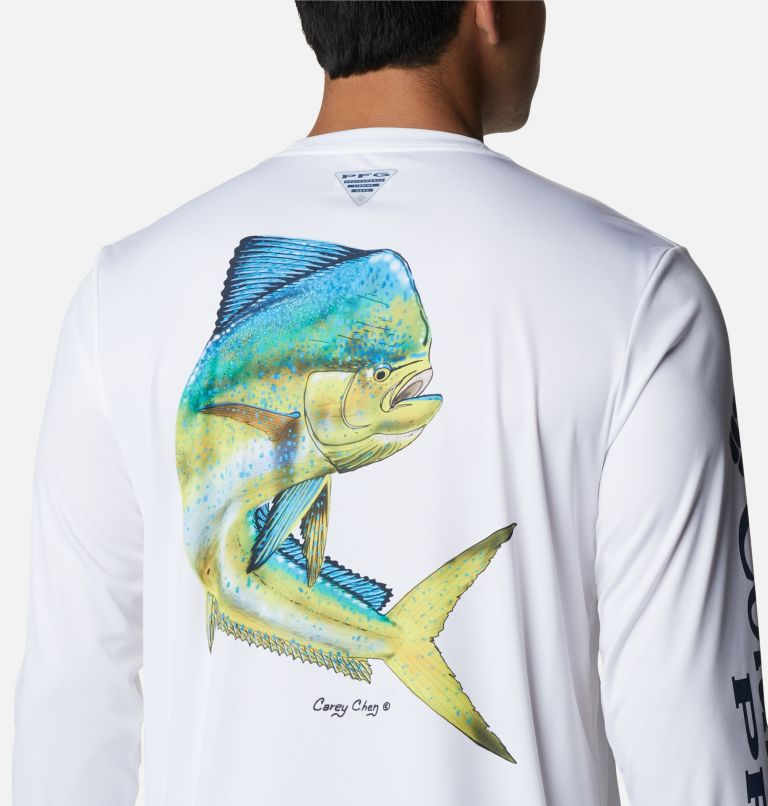 Men's PFG Terminal Tackle™ Carey Chen Long Sleeve Shirt Men's PFG Terminal Tackle™ Carey Chen Long Sleeve Shirt, a3