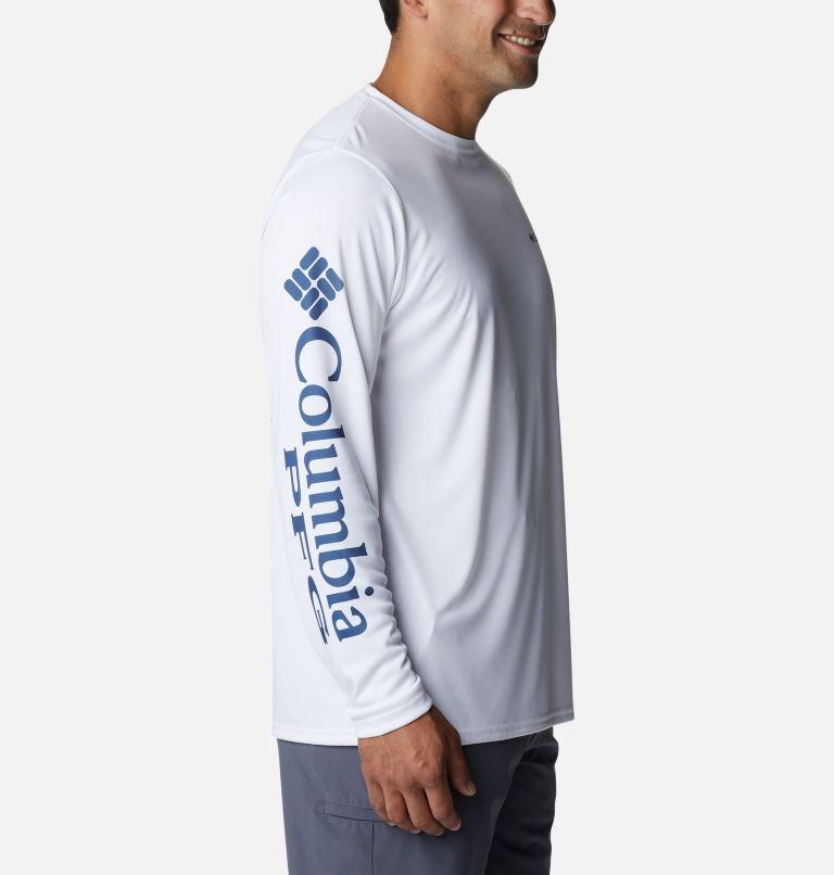 Terminal Tackle PFG™ Carey Chen LS | 105 | L Men's PFG Terminal Tackle™ Carey Chen Long Sleeve Shirt, White, Offshore Slam, a1