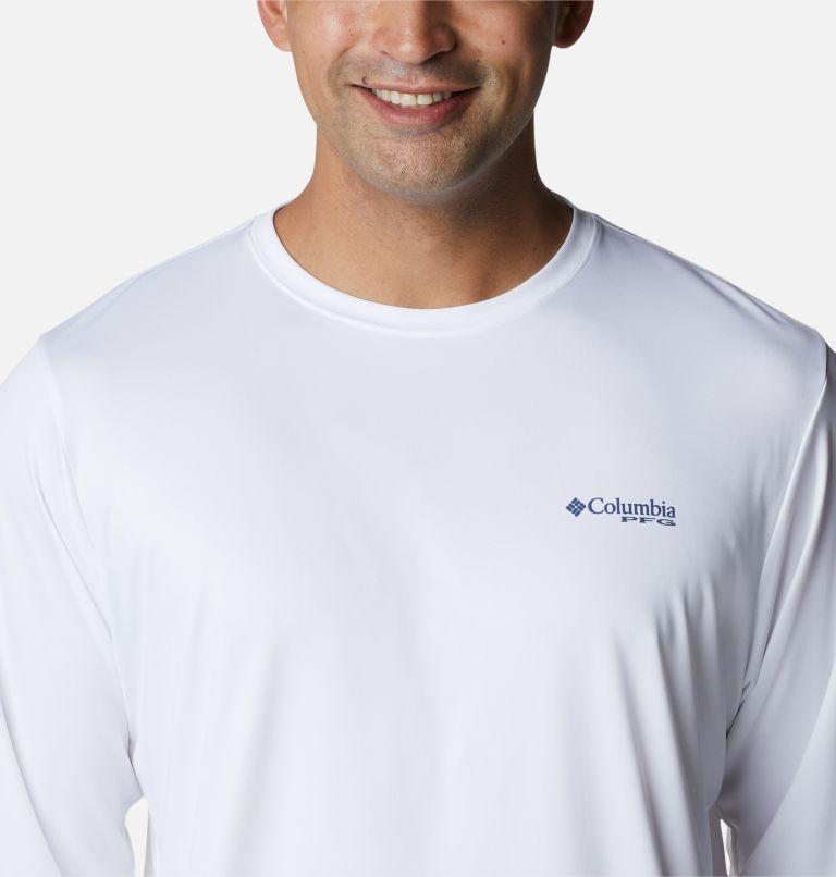 Terminal Tackle PFG™ Carey Chen LS | 105 | L Men's PFG Terminal Tackle™ Carey Chen Long Sleeve Shirt, White, Offshore Slam, a2