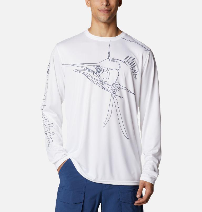 Men's PFG Terminal Tackle™ Running Line Long Sleeve Shirt Men's PFG Terminal Tackle™ Running Line Long Sleeve Shirt, front