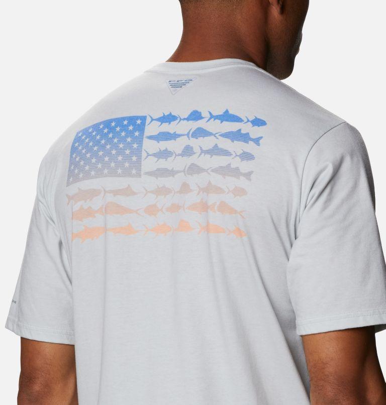 Men's PFG™ Fish Flag Graphic Short Sleeve Shirt Men's PFG™ Fish Flag Graphic Short Sleeve Shirt, a3