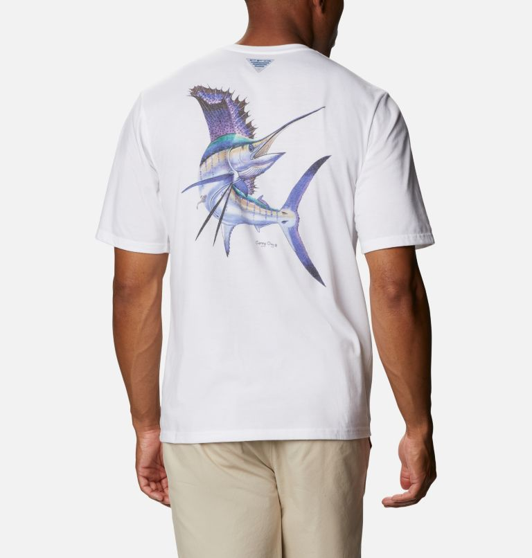 Men's PFG™ Carey Chen Graphic T-Shirt Men's PFG™ Carey Chen Graphic T-Shirt, front