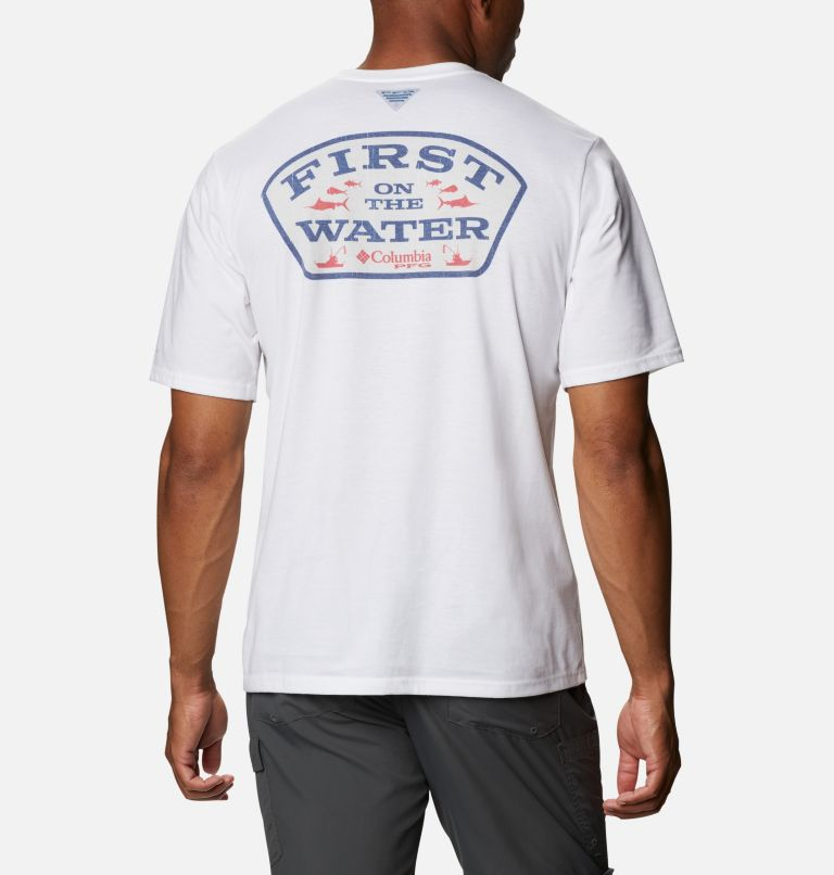 Men's PFG™ First Water Graphic Short Sleeve Shirt Men's PFG™ First Water Graphic Short Sleeve Shirt, front