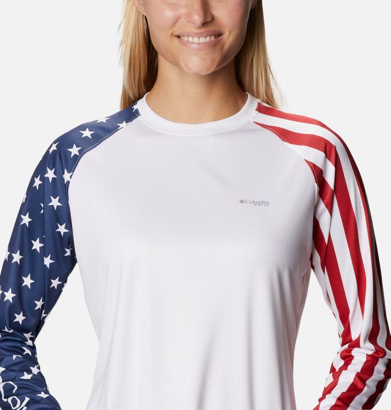 Women's PFG Tidal™ Americana Long Sleeve T-Shirt Women's PFG Tidal™ Americana Long Sleeve T-Shirt, a2