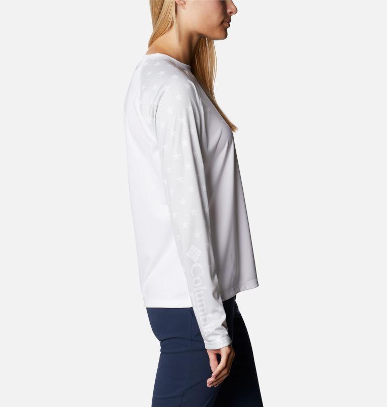 Women's PFG Tidal™ Americana Long Sleeve T-Shirt Women's PFG Tidal™ Americana Long Sleeve T-Shirt, a1