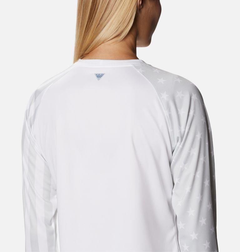 Women's PFG Tidal™ Americana Long Sleeve T-Shirt Women's PFG Tidal™ Americana Long Sleeve T-Shirt, a3