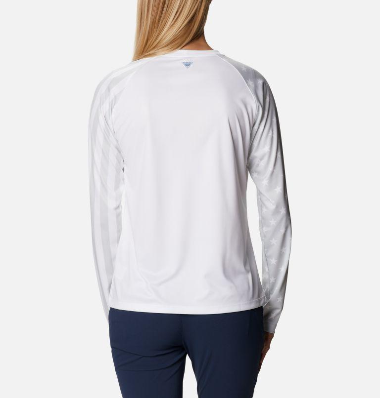 Women's PFG Tidal™ Americana Long Sleeve T-Shirt Women's PFG Tidal™ Americana Long Sleeve T-Shirt, back