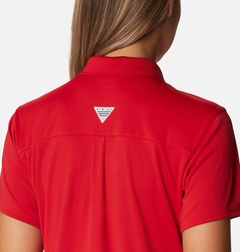 Tidal Tee™ Polo Dress | 696 | XXL Women's Tidal Tee™ Polo Dress, Red Spark, a3