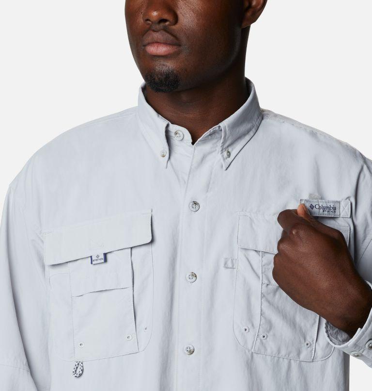 Bahama™ ICON LS Shirt | 019 | L Men's Bahama™ Icon Long Sleeve Shirt, Cool Grey, Redfish Graphic, a2