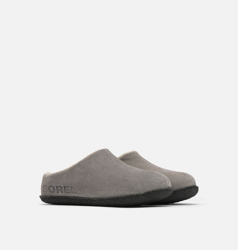 YOUTH LANNER RIDGE™ II | 052 | 5 Youth Lanner Ridge™ II Slipper, Quarry, 3/4 front