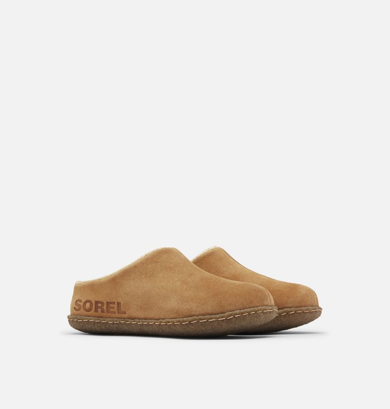 YOUTH LANNER RIDGE™ II | 224 | 7 Youth Lanner Ridge™ II Slipper, Camel Brown, 3/4 front