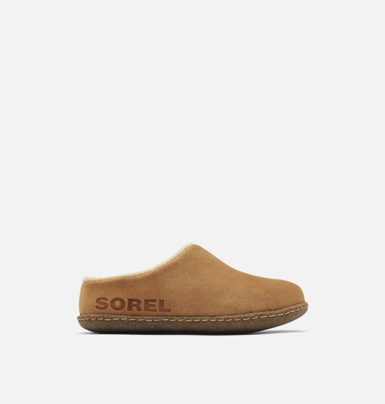 YOUTH LANNER RIDGE™ II | 224 | 7 Youth Lanner Ridge™ II Slipper, Camel Brown, front