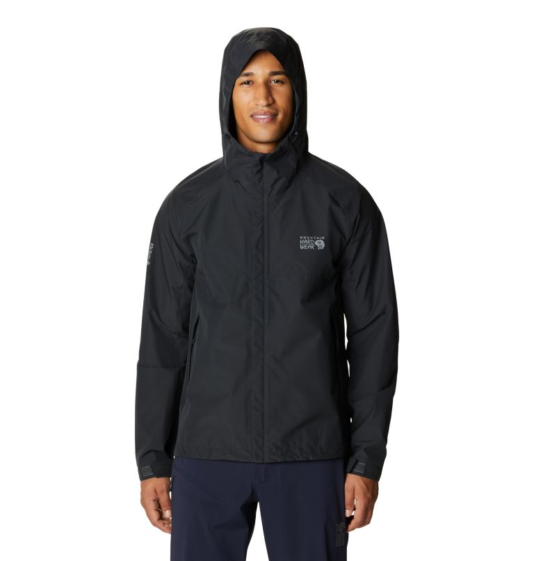 Exposure/2™ Gore-Tex Paclite Jacket | 004 | L Men's Exposure/2™ Gore-Tex Paclite Jacket, Dark Storm, front