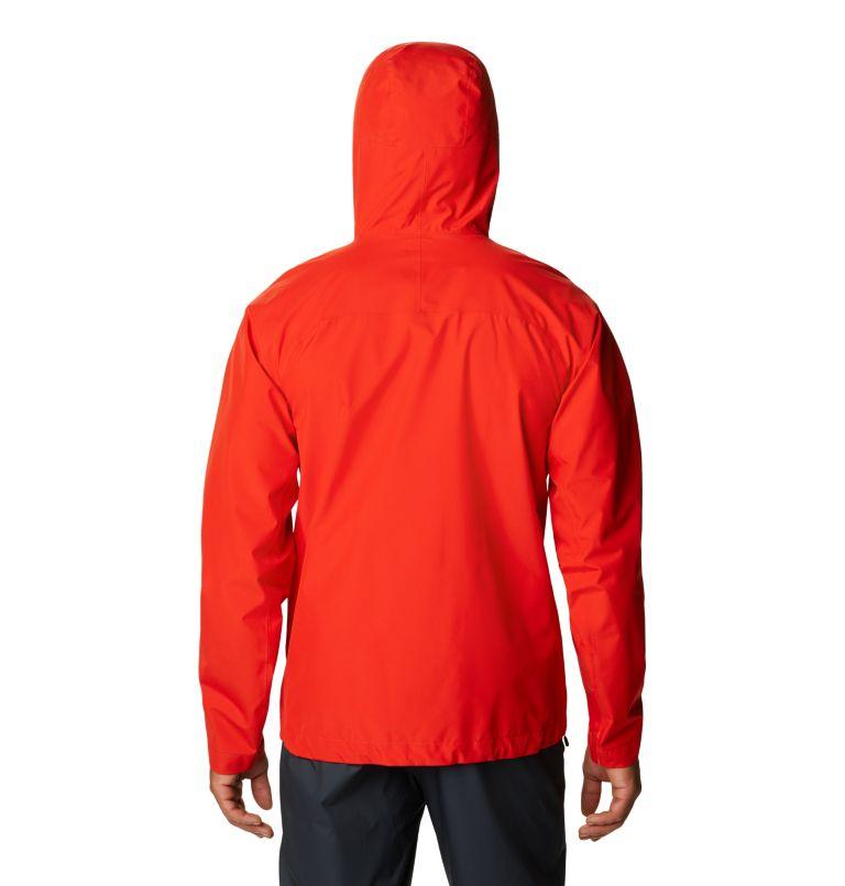 Exposure/2™ Gore-Tex Paclite Jacket | 636 | S Men's Exposure/2™ Gore-Tex PACLITE® Jacket, Fiery Red, back