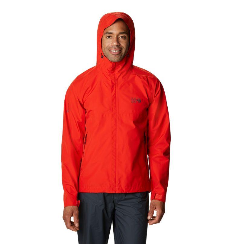 Exposure/2™ Gore-Tex Paclite Jacket | 636 | S Men's Exposure/2™ Gore-Tex PACLITE® Jacket, Fiery Red, front