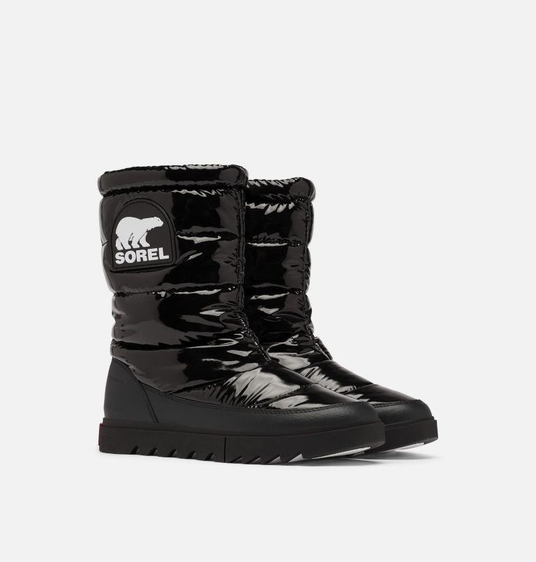 Women's Joan Of Arctic™ Next Lite Mid Puffy Boot Women's Joan Of Arctic™ Next Lite Mid Puffy Boot, 3/4 front