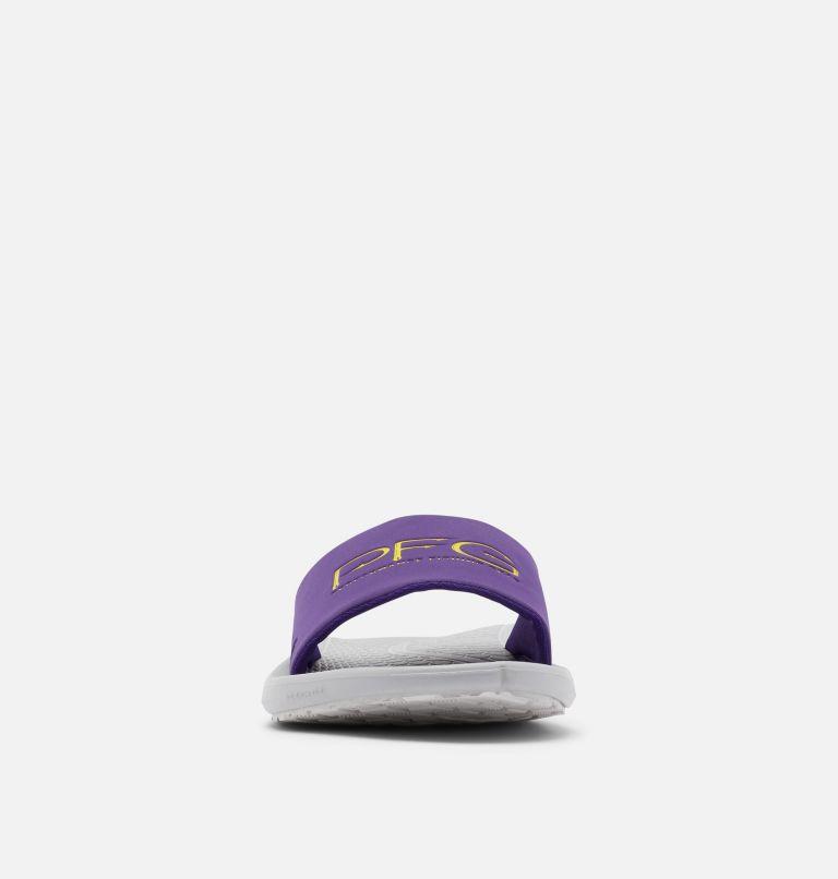 YACHTROCKER™ PFG SLIDE | 540 | 10 Men's Yachtrocker™ PFG Slide Sandal, Hyper Purple, Deep Yellow, toe