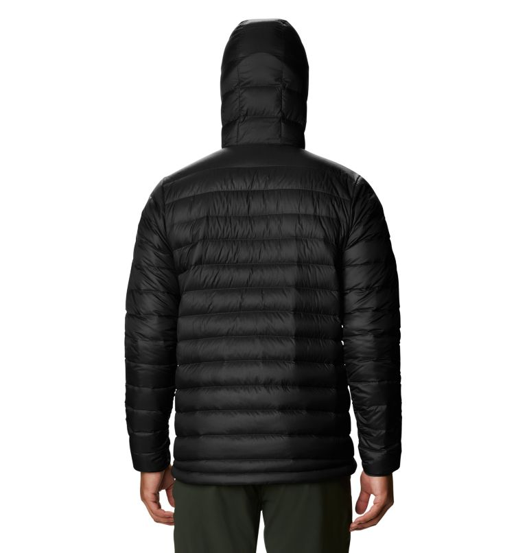 Glen Alpine Down Hoody | 010 | S Men's Glen Alpine Down Full Zip Hoody, Black, back