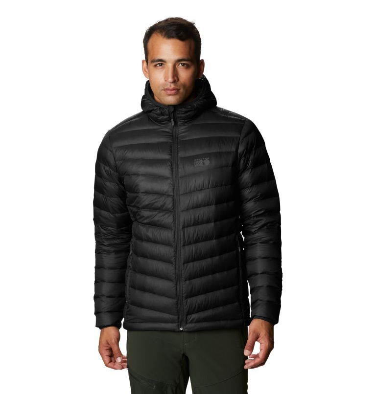 Glen Alpine Down Hoody | 010 | L Glen Alpine Down Hoody, Black, front