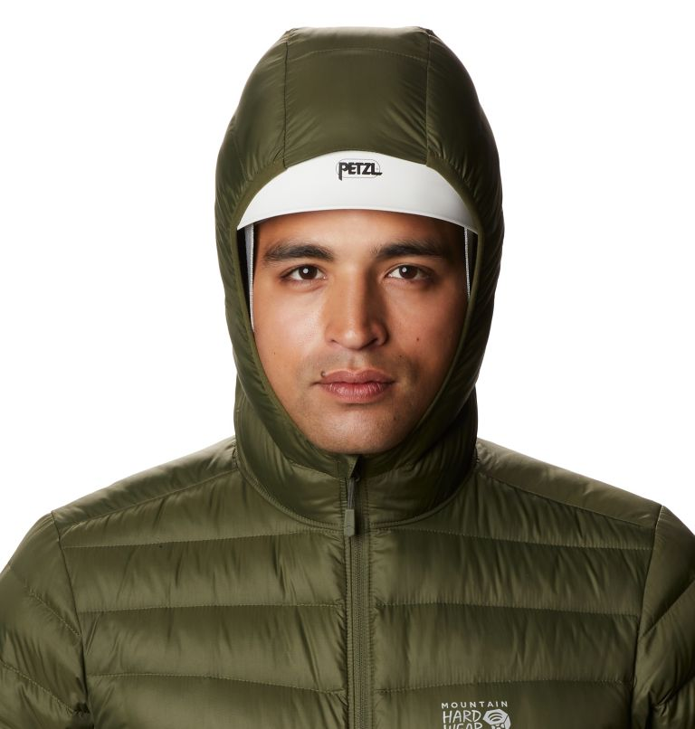 Glen Alpine Down Hoody | 304 | L Men's Glen Alpine Down Hoody, Dark Army, a2