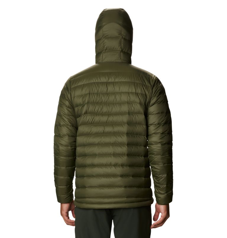 Glen Alpine Down Hoody | 304 | L Men's Glen Alpine Down Hoody, Dark Army, back
