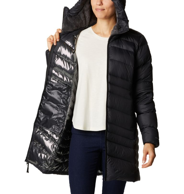 Women's Autumn Park™ Down Hooded Mid Jacket Women's Autumn Park™ Down Hooded Mid Jacket, a3