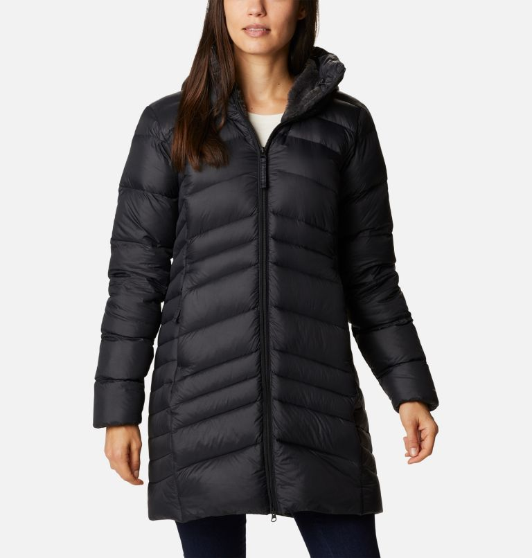 Women's Autumn Park™ Down Hooded Mid Jacket Women's Autumn Park™ Down Hooded Mid Jacket, front