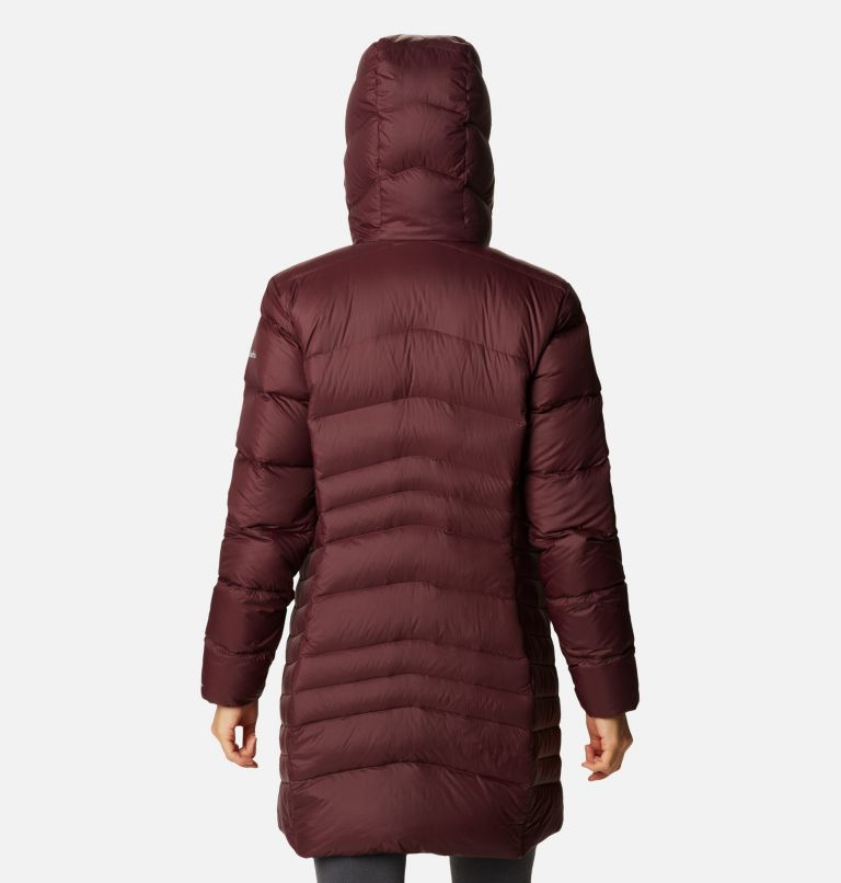 Women's Autumn Park™ Down Hooded Mid Jacket Women's Autumn Park™ Down Hooded Mid Jacket, back