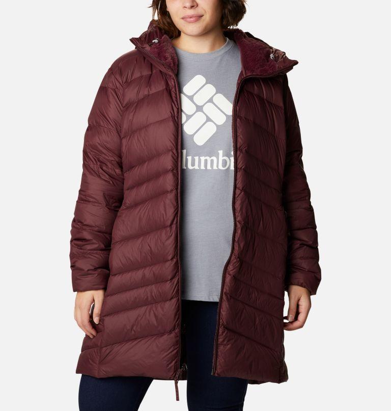 Women's Autumn Park™ Down Hooded Mid Jacket - Plus Size Women's Autumn Park™ Down Hooded Mid Jacket - Plus Size, a4