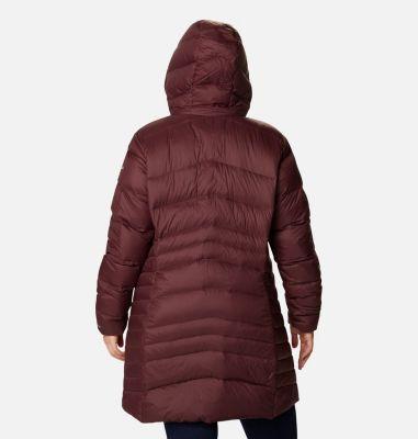 Women's Autumn Park™ Down Hooded Mid Jacket - Plus Size   Columbia Sportswear