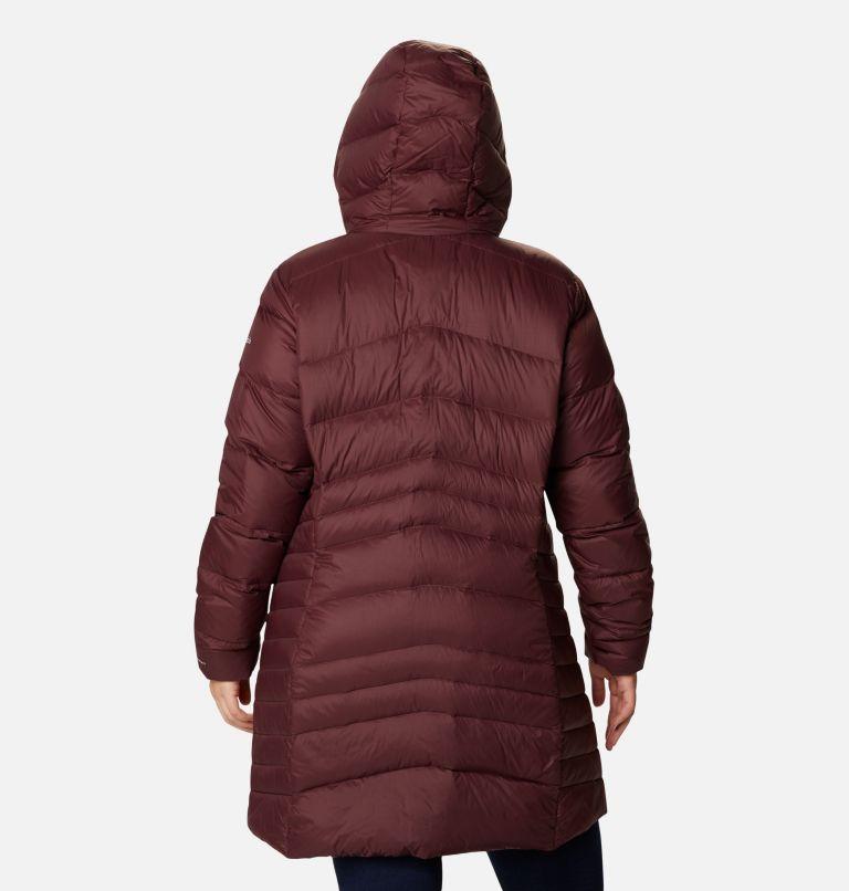Women's Autumn Park™ Down Hooded Mid Jacket - Plus Size Women's Autumn Park™ Down Hooded Mid Jacket - Plus Size, back