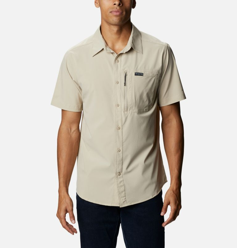 Men's Triple Canyon™ II Solid Short Sleeve Shirt Men's Triple Canyon™ II Solid Short Sleeve Shirt, front