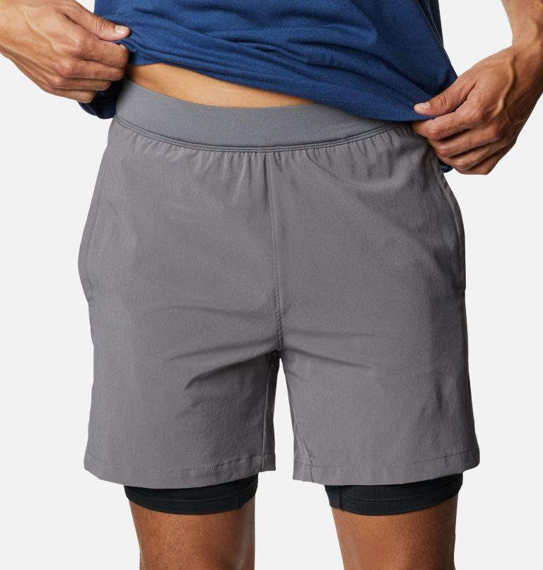Zero Rules™ Short   023   M Men's Zero Rules Shorts, City Grey, Black Trad Camo, a2