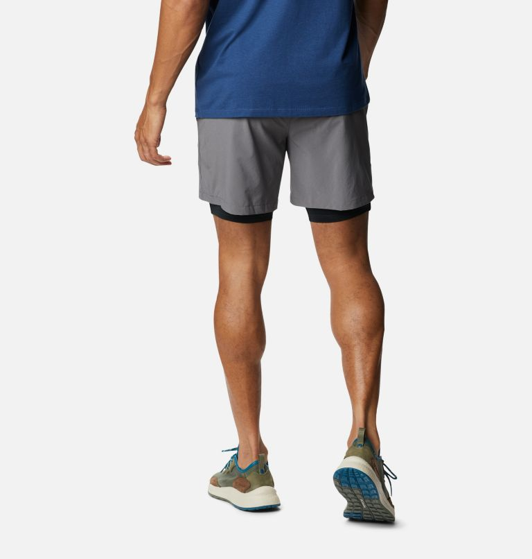 Zero Rules™ Short   023   M Men's Zero Rules Shorts, City Grey, Black Trad Camo, back